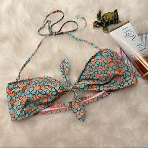 Roxy Four Leaf Clover Bikini Top